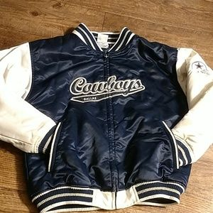 Awesome padded Dallas Cowboys satin jacket